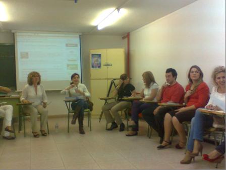 grupo focal en el que participan las asesoras del cep las maestras de infantil alumnado y profesorado de la facultad